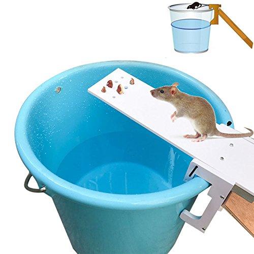 klinkamz Piège à rats pour tuer rapidement les rats et les souris - Pour le jardin, la maison
