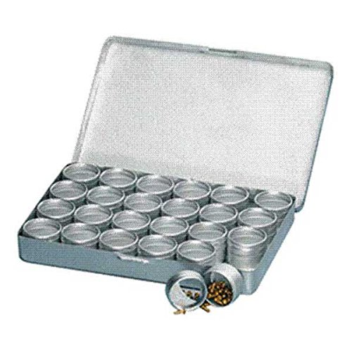 Aluminum Storage Case with 24 Containers