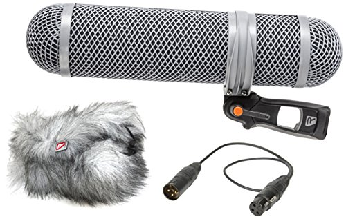 Rycote Super-Shield 010321 Windschutz-Set für Mikrofon, Größe M