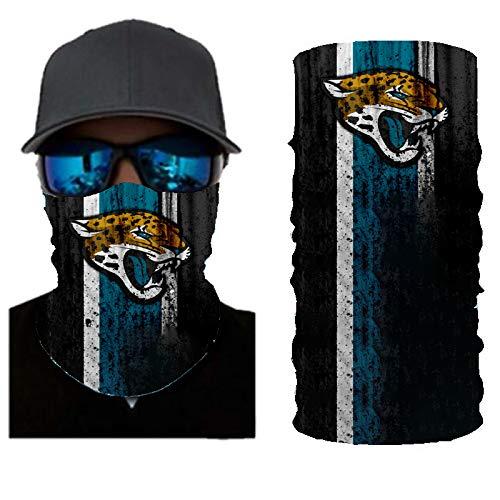 PAWANG Bufanda de Verano Absorbente de Sudor Logotipo del Equipo de fútbol de la NBA FIFA Decoración de la Cara de Halloween 50x25cm