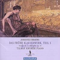 Brahms: Sonate Nr.3, Balladen Op.10 / Tilman Kramer(P)