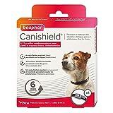 BEAPHAR - CANISHIELD 0,77 g – 1 collier antiparasitaire pour petits et moyens chiens – Substance active : Deltaméthrine - Agit contre les tiques, les puces et les phlébotomes