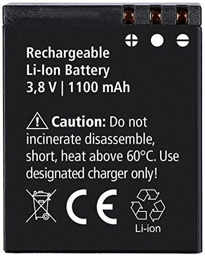Rollei Akku Actioncam 560 & 550 Touch - Lithium-Ionen-Akku (3,8 V / 1100 mAh) - Schwarz