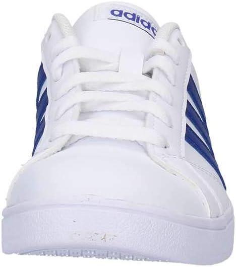 ajedrez artillería Algún día  Adidas Tenis Baseline F36198 para Jóvenes, Color Blanco/Franjas Azules.:  Amazon.com.mx: Ropa, Zapatos y Accesorios