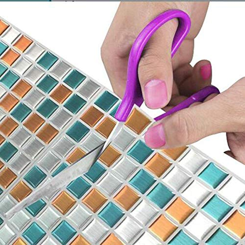 2020 New Trend 3D Vinyl Mosaik Quadrat Wandfliesen Aufkleber Fliesen wasserdichte Imitation Brick Selbstklebende Tapete Aufkleber Aufkleber