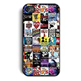Cell World LLC - Broadway Musical Collage Case for Apple NEW iPhone 8 - 4.7 Inch, Silicone TPU Cover , Ships From USA& Includes 3 screen Protectors