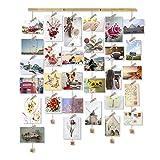 Love-KANKEI MEMORY Cornici Foto Cornice Portafoto con Clip Cornice Multipla per Foto da Parete Wall Decor 30 Foto (Memory)