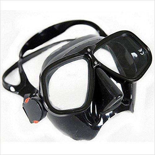 Zwembril Volwassenen Duikbril Scuba Snorkeling Masker Met Band Impact Resistant Gehard Glas Duikmasker Zwembril Silica Gel&Aluminium Legering Frame Freediving Bril Duiken Anti Mist UV