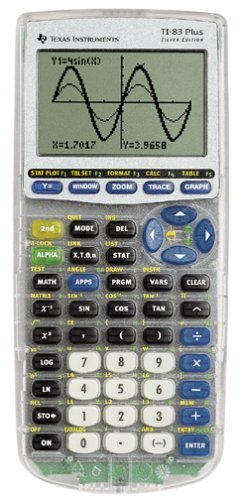 Texas Instruments TI-83-Plus Silver Edition (Renewed)
