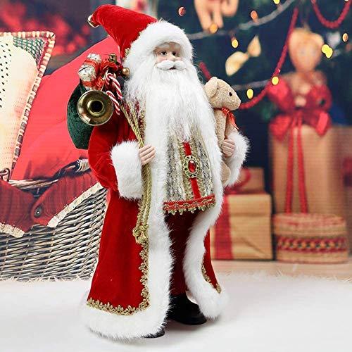 "Kranich 18"" Santa Claus Christmas Figurine Figure Decoration Holiday Decoration"