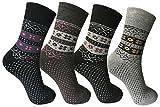BestSale247 6 oder 12 Paar Damen Vollfrottee Baumwolle Thermo Socken Winter Sport Ski Freizeit Arbeitssocken 35-38 ; 39-42, 6   Paar   Farbmix, 39-42