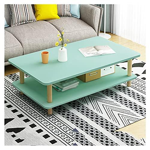 Mesas Auxiliares Mesa de café Mesa de té industrial de piso múltiple, usado para decorar el dormitorio de la oficina en la mesa pequeño apartamento en forma de cóctel de bajo forma de mesa Mesas de Ca