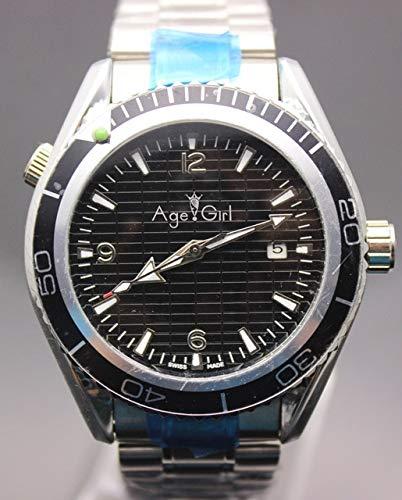 GFDSA Automatische horloges Luxe merk Sky Fall Limited Edition Duik Heren Sport Roestvrij stalen armband Zwart Blauwe automatische mechanische horloges voor heren