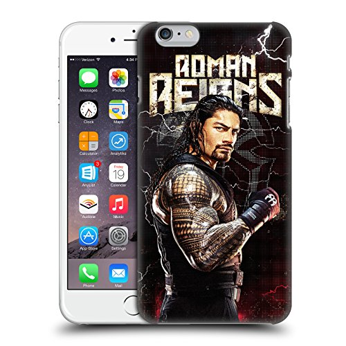 Head Case Designs Officially Licensed WWE Roman Reigns Superstars Hard Back Case Compatible with Apple iPhone 6 Plus/iPhone 6s Plus