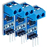 AZDelivery 3 x ACS712 5A Ampere di corrente ACS Modulo sensore Range Current Sensor module compatibile con Arduino Bascom e Raspberry Pi con eBook