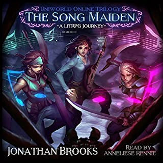 The Song Maiden: A LitRPG Journey cover art