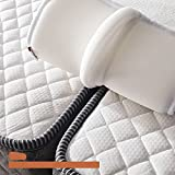 BEDIA 12Inch Bed Bridge Twin XL to King Converter Kit with Strap   Mattress Connector for Bed   Non-Slip   Storage Bag Included (12x80Inch)