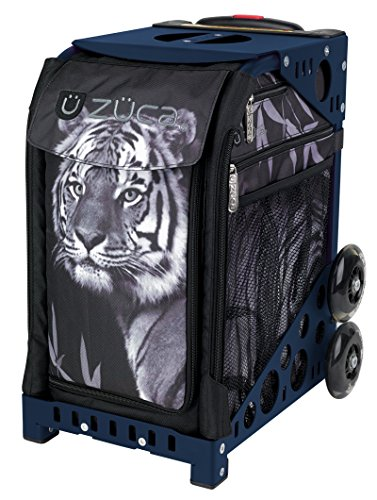 Best Price ZUCA Legendary Tiger Sport Insert Bag and Navy Blue Frame with Flashing Wheels