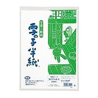 (まとめ買い) マルアイ 雪の子半紙 竹(20枚入) P20ハ-1 【×10】
