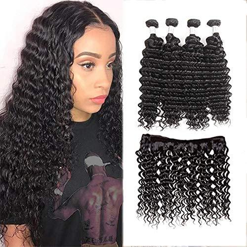 XYHair Virgin Brazilian Deep Wave online shop Miami Mall Hair Human 100% Unproc Bundles