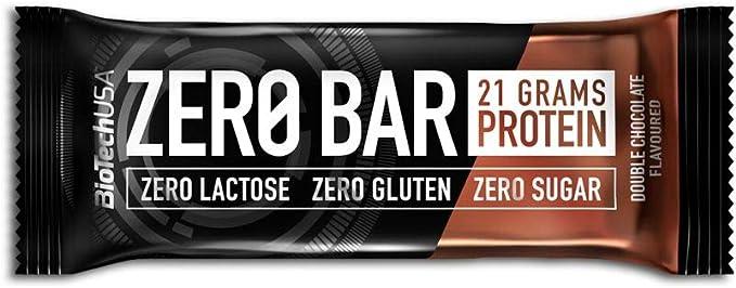 BioTechUSA Cero 20 Barras, Ciruela de Chocolate 1000 g