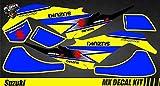Kit Déco Quad para / Atv Calcomanías Kit para Suzuki Ltz 400 - Yellow