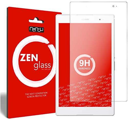 ZenGlass Flexible Glas-Folie kompatibel mit Sony Xperia Z3 Tablet Compact Panzerfolie I Bildschirm-Schutzfolie 9H