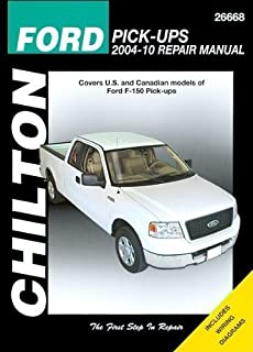 Chilton's Ford Pick-Ups 2004-12 Repair Manual: Covers U.s. and Canadian Models of Ford F-150 Pick-ups 2004 Through 2012 (Chilton's Total Car Care Repair Manual) by Stubblefield, Mike Published by Delmar Pub Reprint edition (2012) Paperback