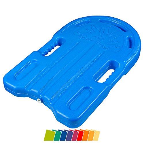 Sport-Tec Schwimmbrett Badespaß Bodyboard Schwimmboard Schwimmhilfe mit Handgriffen, klein