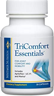 Dr. Whitaker's TriComfort Essentials - Joint Relief Supplement with Turmeric & Boswellia Extracts - (30 Capsules)
