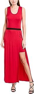 Women's Twofer Knit Maxi Dress