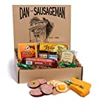 Dan the Sausageman's Yukon Gourmet Gift Basket -Featuring Dan's Original Sausage, 100% Wisconsin Cheese, and Dan's Sweet Hot Mustard
