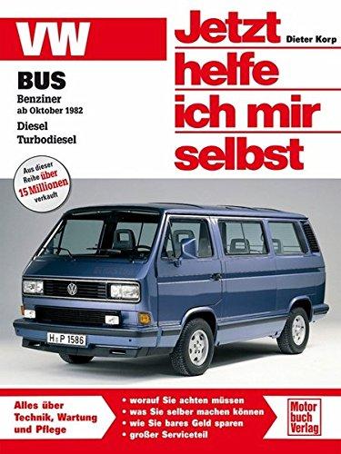 VW Bus T3: Benziner ab Oktober 1982. Diesel. Turbodiesel (Jetzt helfe ich mir selbst)