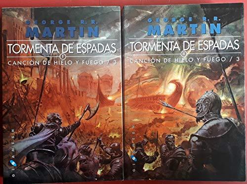 Tormenta de espadas - cancion de hielo y fuego 3 (2 vols.) (7ª ed.) (Gigamesh Ficcion)