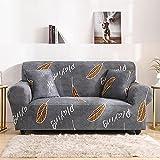 WXQY Funda de sofá Bohemia elástica Estampada Funda de sofá a Prueba de Polvo con Todo Incluido, Funda de sofá Antideslizante para Sala de Estar A18 1 Plaza