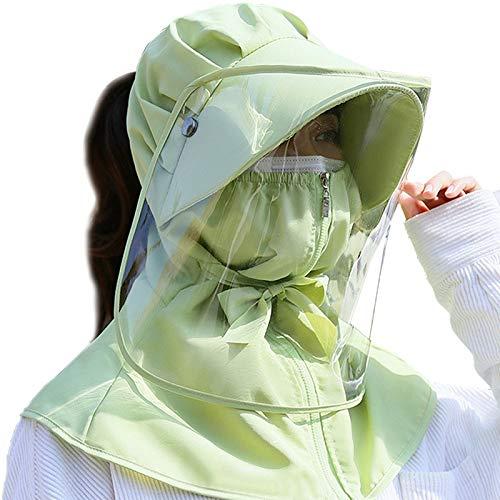 Zonnebrandcrème Hat Female Cover Gezicht Anti-360 graden Protection Anti-Foam Picking Tea Work zonnehoed Riding zonnehoed