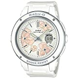 [カシオ] 腕時計 ベビージー Floral Dial Series BGA-150FL-7AJF レディース ホワイト