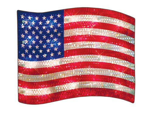 Top 10 usa flag window cling for 2021