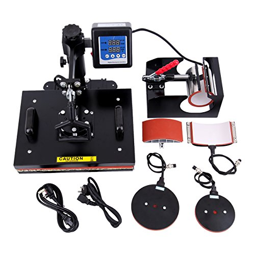 Iglobalbuy 8in1 T-shirt Digital Heat Press Machine Transfer...