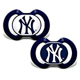 Baby Fanatic MLB New York Yankees Infant and Toddler Sports Fan Apparel, Multi