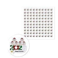 Nexmon クリスマス シール 100枚入 ギフト シール 子供 ごほうびシール ラッピング 袋シール サンタ 装飾シール 手帳ステッカー 封筒シーリングステッカー