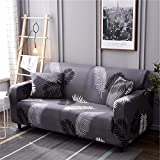 WXQY Funda de sofá elástica geométrica Bien Envuelta Funda de sofá Antideslizante y a Prueba de Polvo en Forma de L Funda de sofá de Esquina combinación A3 1 plazas