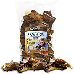 DOG LOVE EM' GUARANTEE: Your best friend will go CRAZY over this popular all-natural dog treat. If your dog doesn't love our dog chews, simply get your money back...easy! It's a DELICIOUSNESS YOUR DOG WILL LOVE! BEST DOG TREATS FOR AGGRESSIVE CHEWERS...