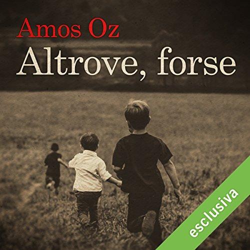 Altrove, forse audiobook cover art