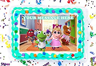 Muppet Babies Cake Topper Edible Image Personalized Cupcakes Frosting Sugar Sheet (8