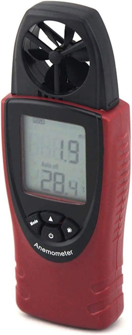 WSH Anemometer Digital Wind Speed Direct stock discount Air Time sale Velocity Gauge Meter Flow