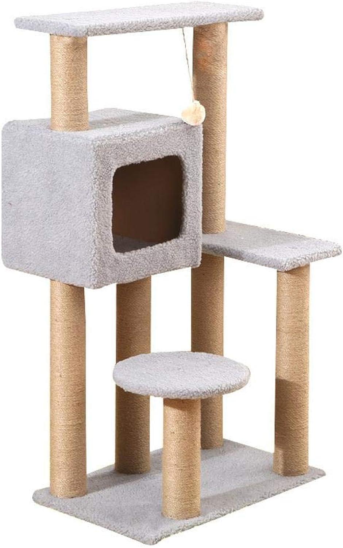Aoligei Cat Play Towers & Trees Station Cat Supplies cats toy sisal Cat Scratch cat Jump Cat Scratch 60  40  105cm