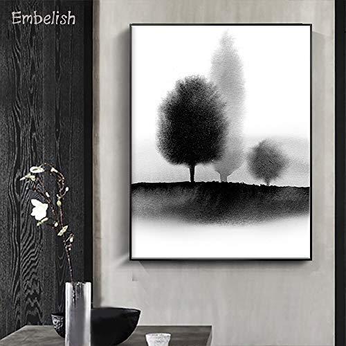 KWzEQ Leinwanddrucke Abstrakter Baum für Wanddekoration posterliving Raumplakate und Dekor30x40cmRahmenlose Malerei