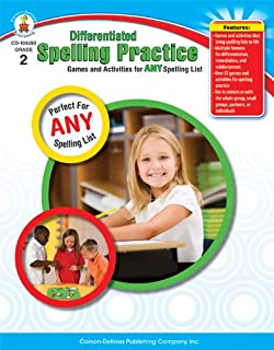 Differentiated Spelling Practice, Grade 2: Games and Activities for Any Spelling List