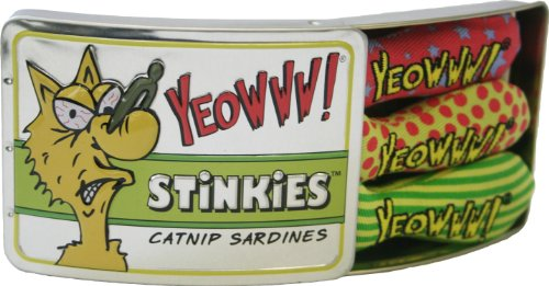 Yeowww! Tin of Stinkies, 3 in a Sardine Tin